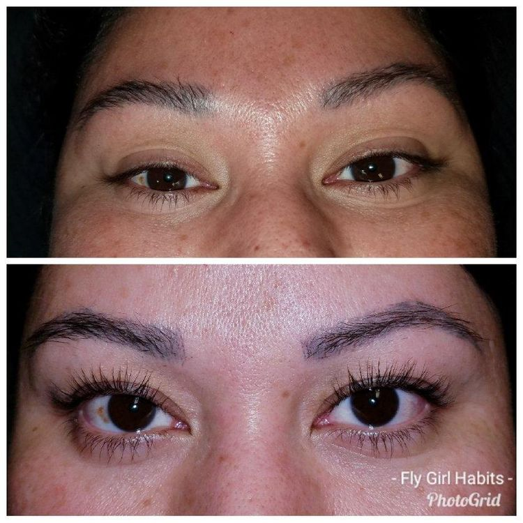 Lash Botox is a new lash lift for natural lashes that infuses keratin to promote growth. Last 6 to 8 weeks.