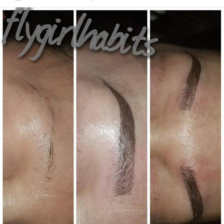 I DO MICROBLADING, POWDER BROWS AND OMBRE BROWS.