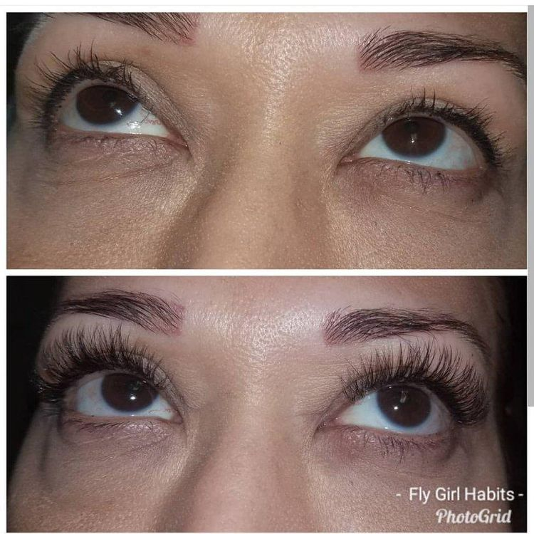 2D Eyelash Extensions give you twice the lashes gor more fullness!