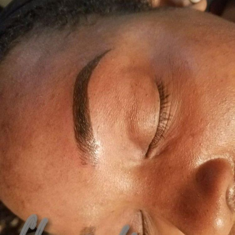 Visit @kris_theartist for more brow tattoos before and after videos!