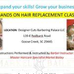 Designer Cuts Barbering Palace LLC
