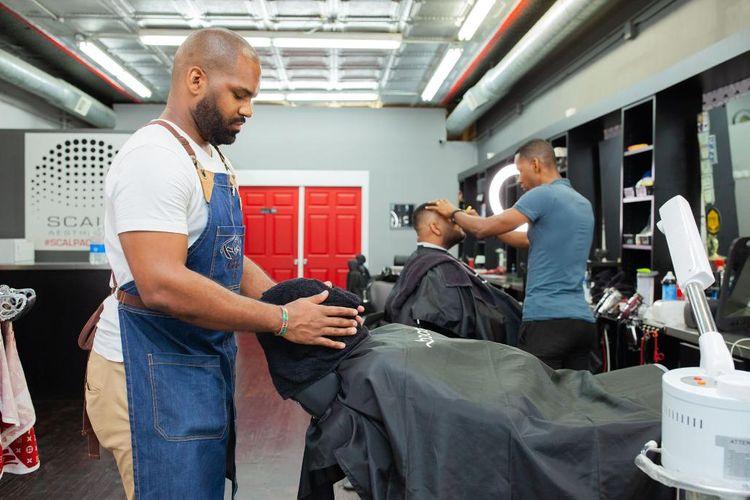 TEE @ Rockstar Barber Shop