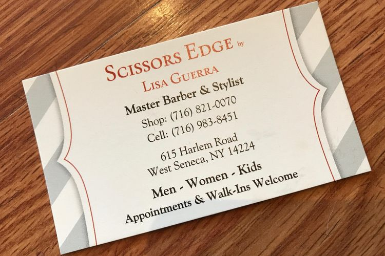 Scissors Edge, By Lisa