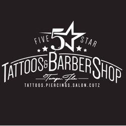 Five Star Tattoos & Salon, 1005 W Busch Blvd #201, Tampa, FL, 33612