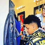 Brandy the barber/stylist
