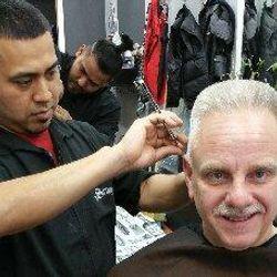 Franky at Sculptures Barber Shop, 26-10 Hoyt Ave South, Astoria, Astoria 11102