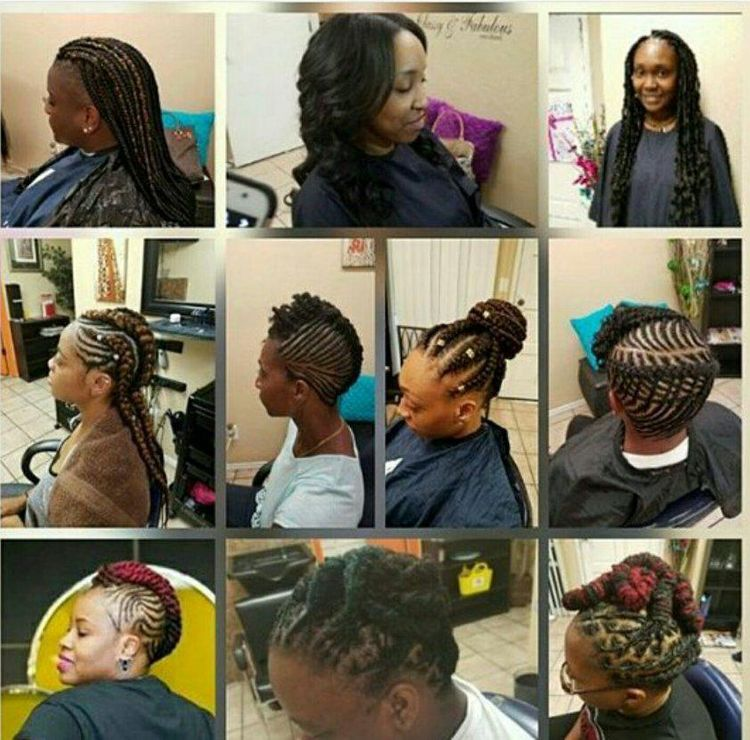 Weave, Natural Style, Braids & Locs