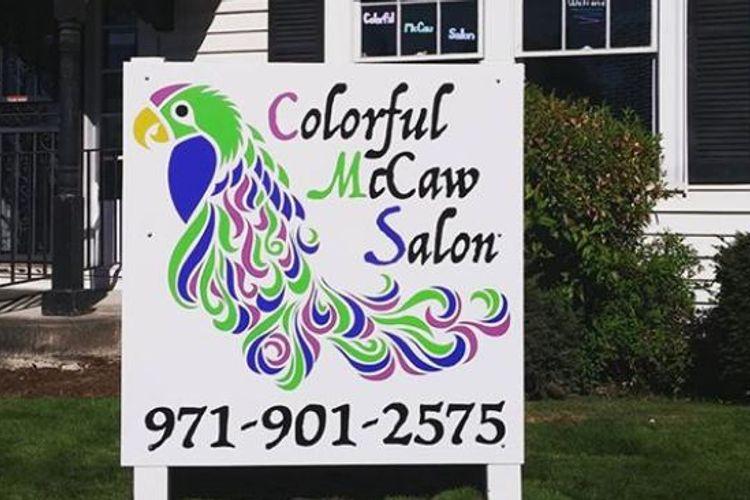 Colorful McCaw Salon