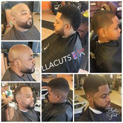 Dilla the Barber, 2320 w. 95th street, Sola salon suites, Chicago, 60643