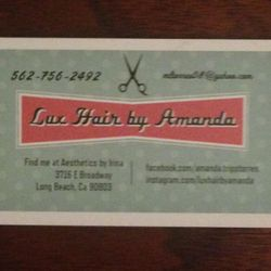 Lux Hair by Amanda, 3716 E Broadway, Long Beach, 90803