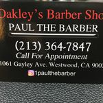 Paul the Barber In Westwood