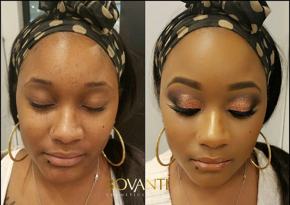 Makeup Artist - Marquel Javontei of Bovanti Cosmetics
