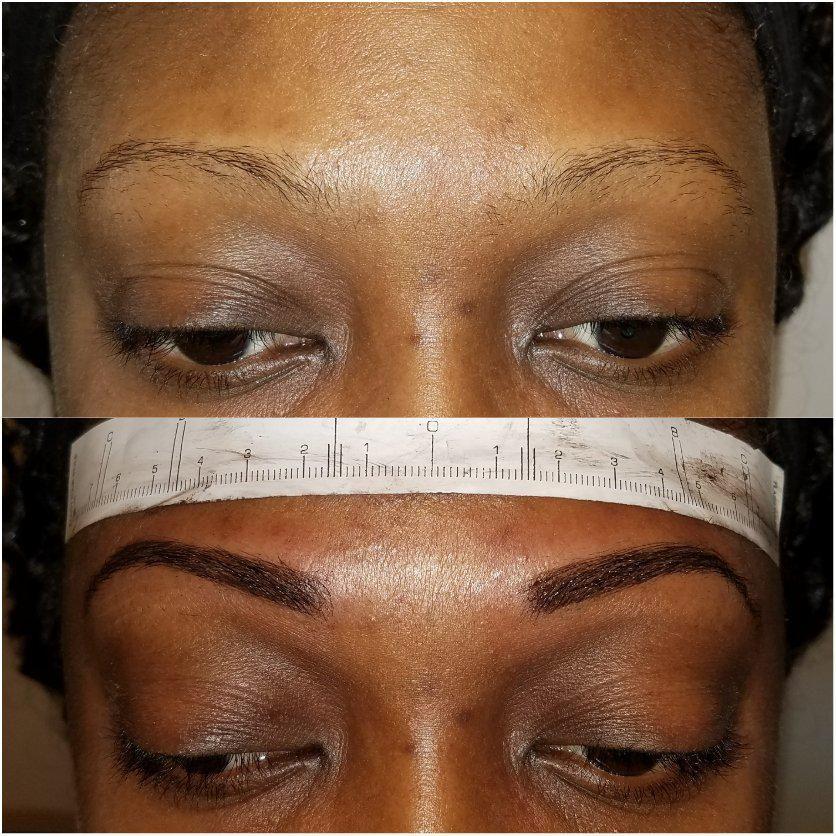 Eyebrows & Lashes - Marquel Javontei of Bovanti Cosmetics