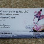 VINTAGE SALON AND SPA LLC