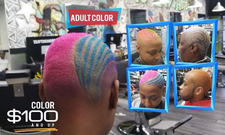 Hair coloring at its best. Any color you can imagine we provide it. Lets be creative together. See you soon.