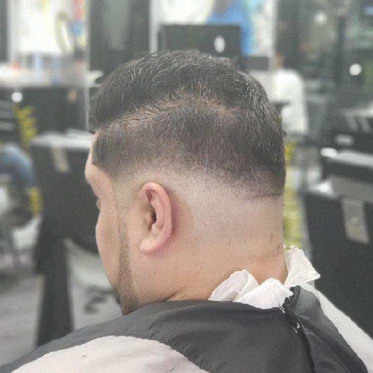 Men's fade hair cut by @pennythelastking