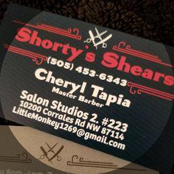 Shorty's Shears: Village3SalonStudios, 10200 Corrales Road Studio #315, Albuquerque, 87114