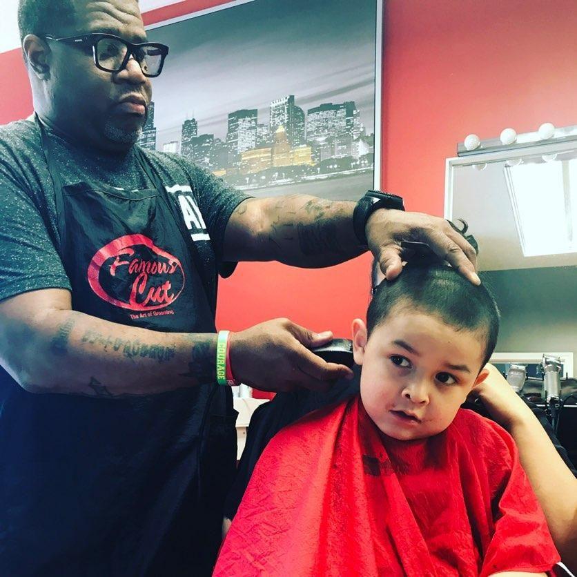 Barbershop, Hair Salon - FAMOUS CUT BARBERSHOP