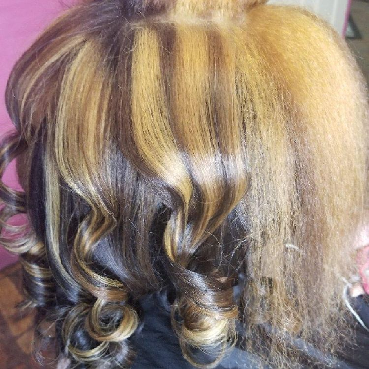 Color on Natural hair