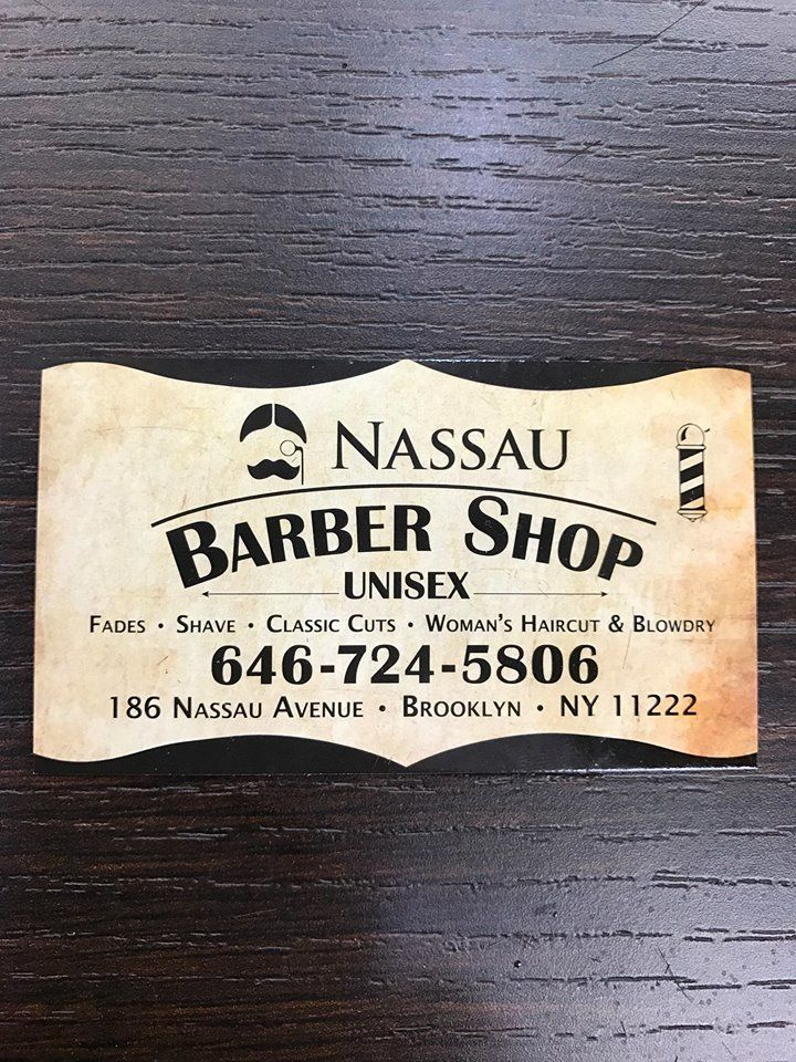 Nassau Barber Shop